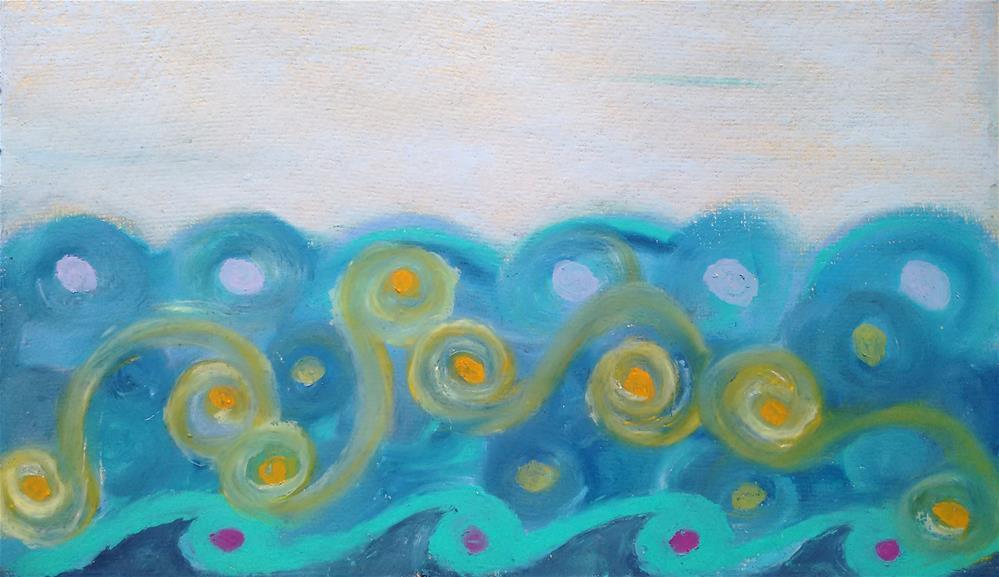 """Sea, When Will I See You Again?"" original fine art by Adéla Svobodová"