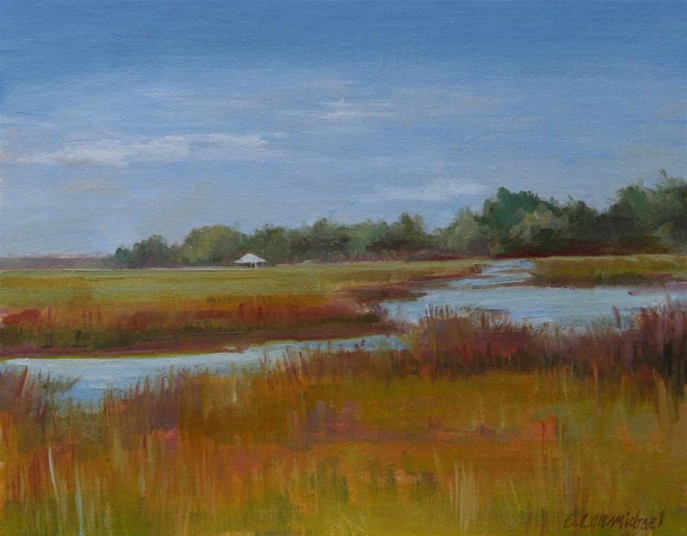 """cumberland island"" original fine art by Carol Carmichael"