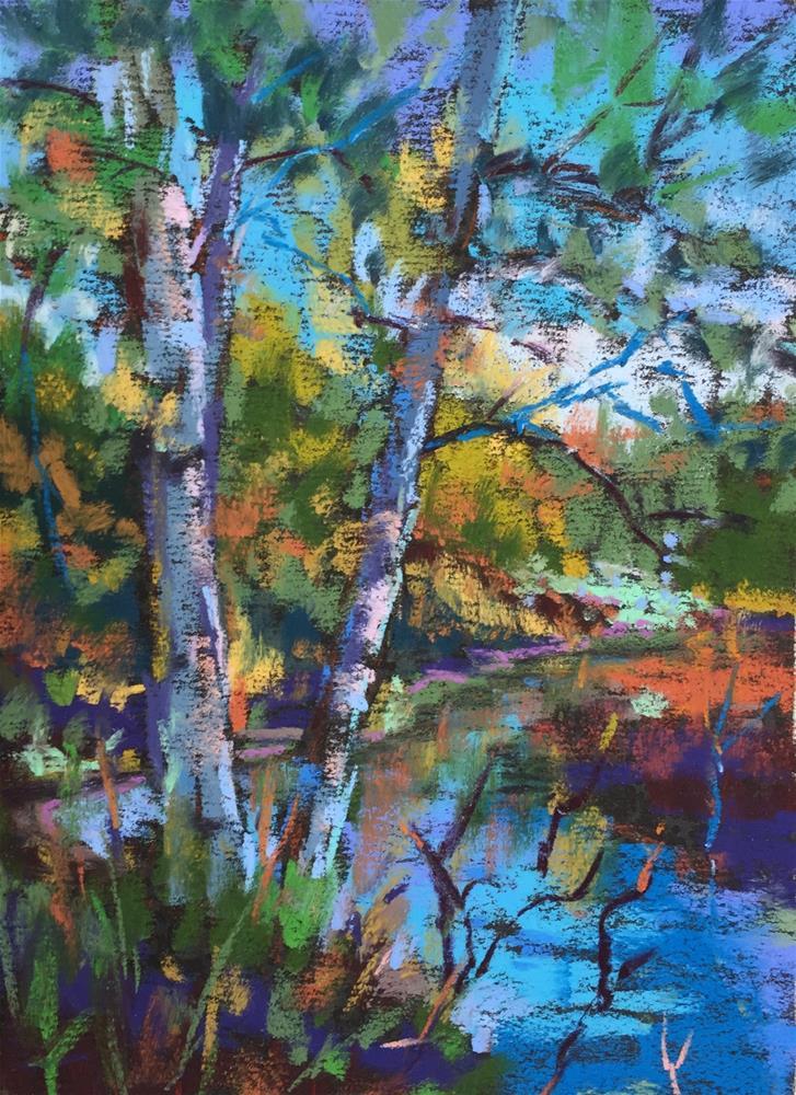 """Along The Marsh"" original fine art by Martin Beauchamp"