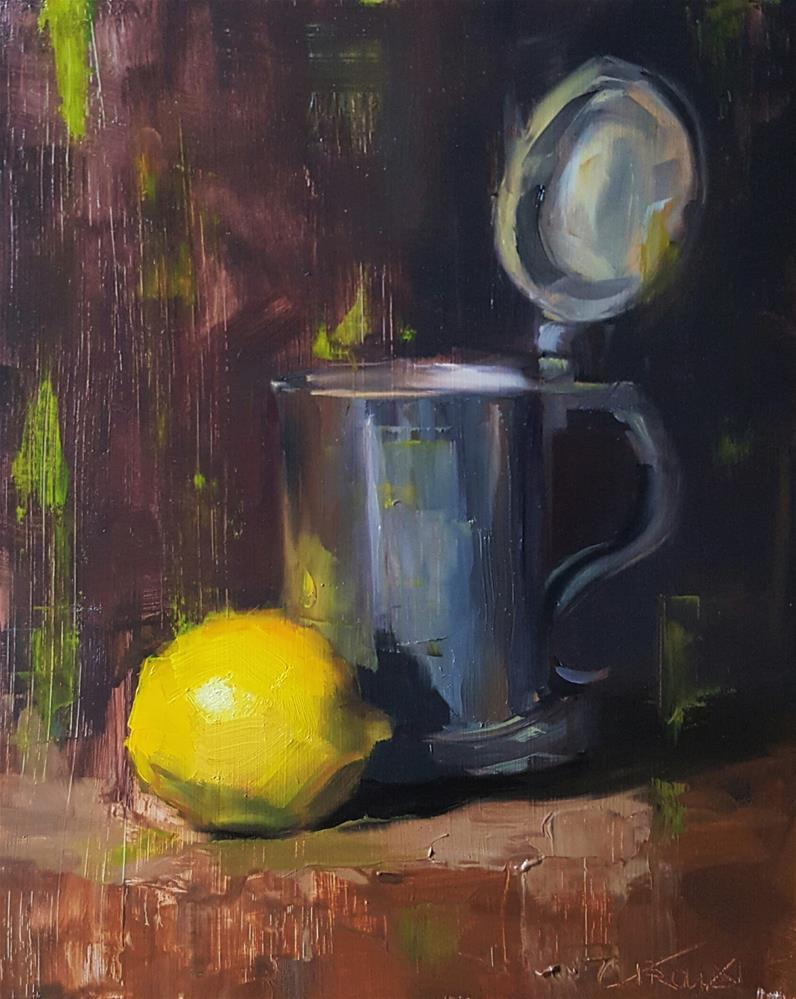 """Lemon Brew"" original fine art by Cory Proulx"