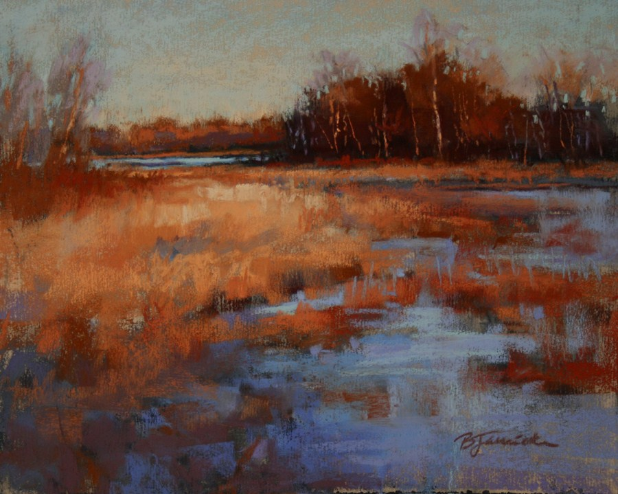 """Afternoon Glow"" original fine art by Barbara Jaenicke"