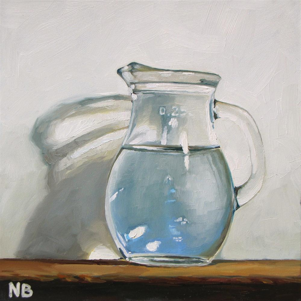 """Small Drink of Water"" original fine art by Nora Bergman"
