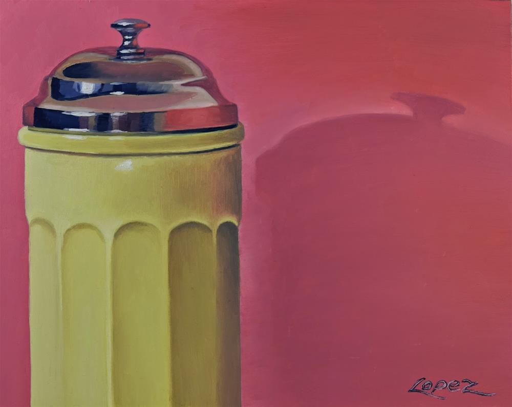"""6. Just the Top"" original fine art by Gema Lopez"