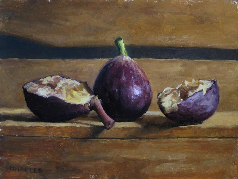 """Purple Figs"" original fine art by Michael Naples"