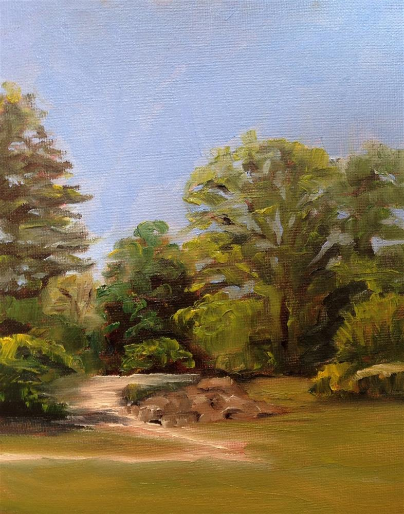 """Landscape series 2"" original fine art by Debra Kennedy"