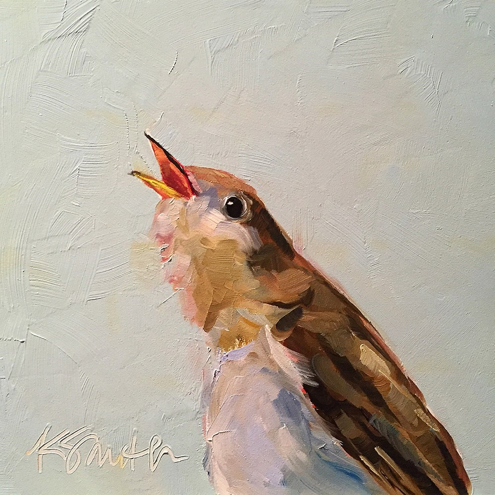 """sweet song"" original fine art by Kim Smith"