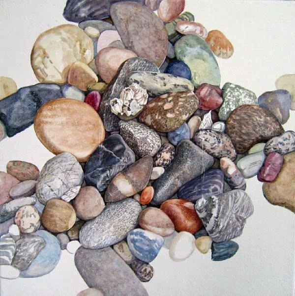 """""""Portfolio:  stone series, Seeing"""" original fine art by Nicoletta Baumeister"""
