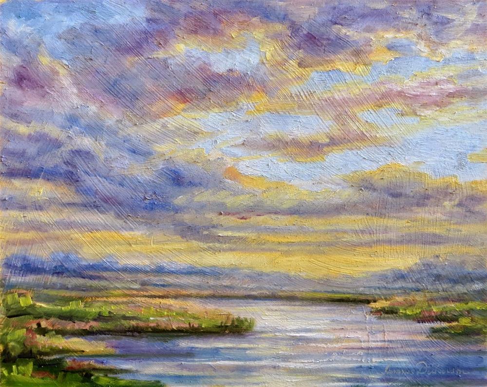 """Glorious Sky"" original fine art by Tammie Dickerson"