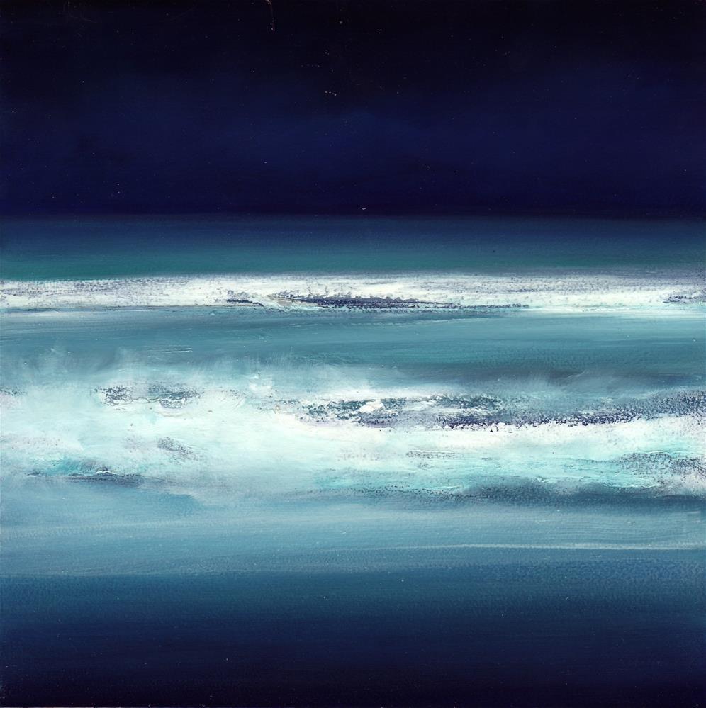 """Ocean Meditation #2"" original fine art by Anne Ducrot"