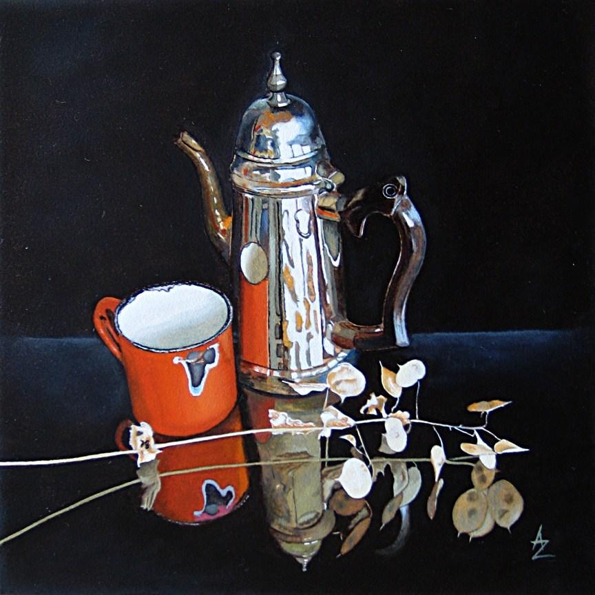 """Yesterdays"" original fine art by Alex Zonis"