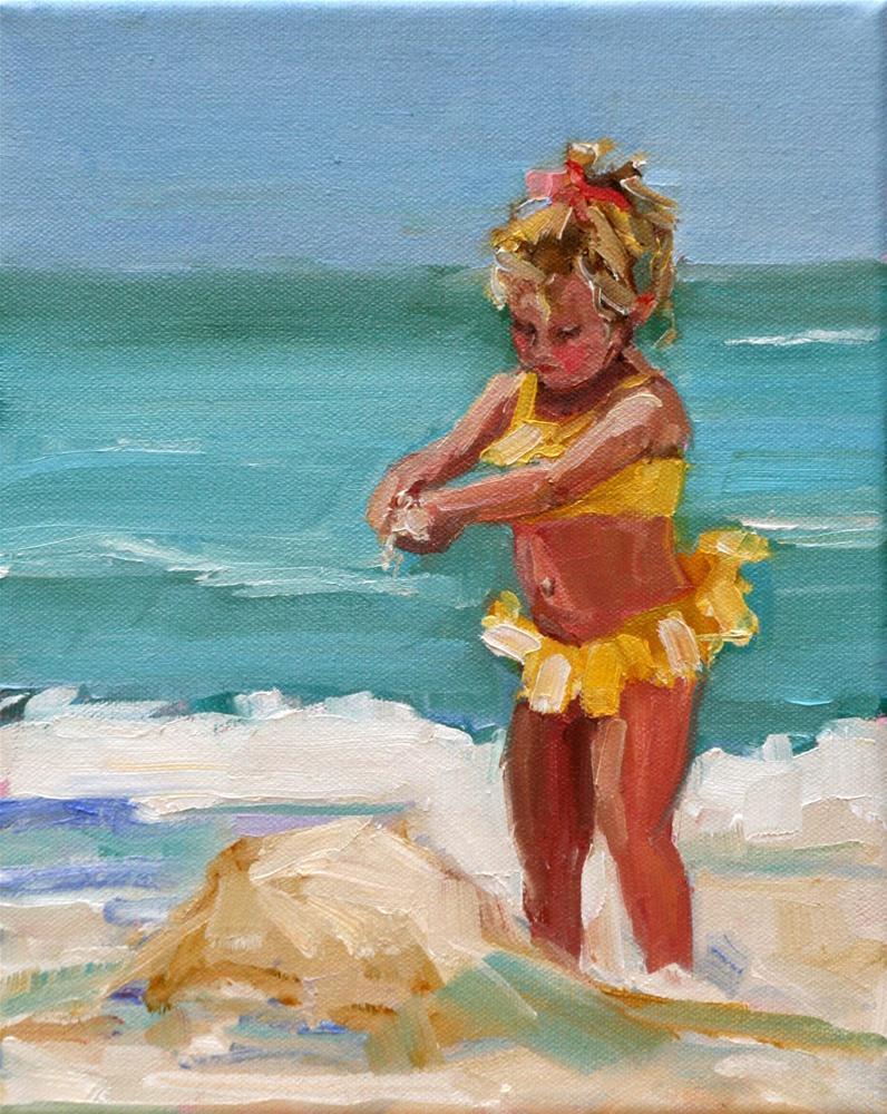 """""""itsy bitsy"""" original fine art by Carol Carmichael"""