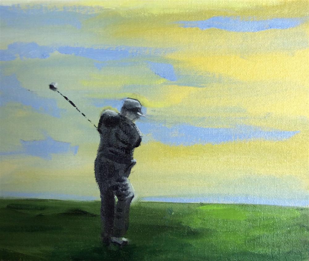 """Before Eight"" original fine art by Patty Barnes"