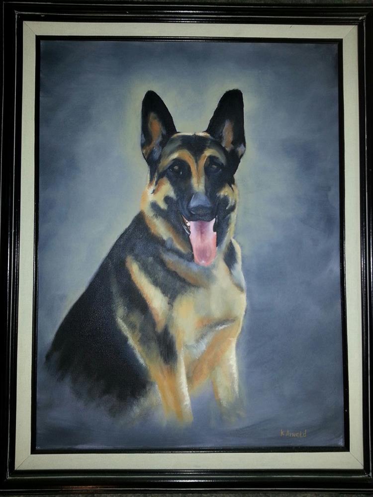 """Duke"" original fine art by Kenny Arnold"