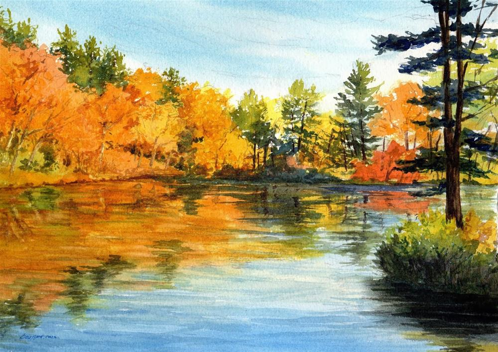 """Autumn Glory"" original fine art by Vikki Bouffard"