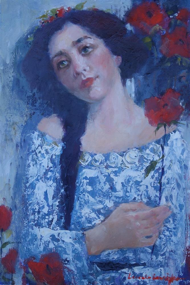 """""""Remote"""" original fine art by Lorraine Lewitzka"""
