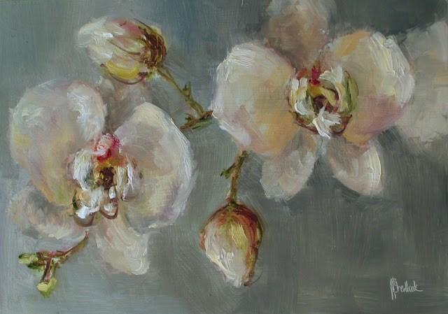 """Daily painting #717 Abundant beauty"" original fine art by Heidi Shedlock"