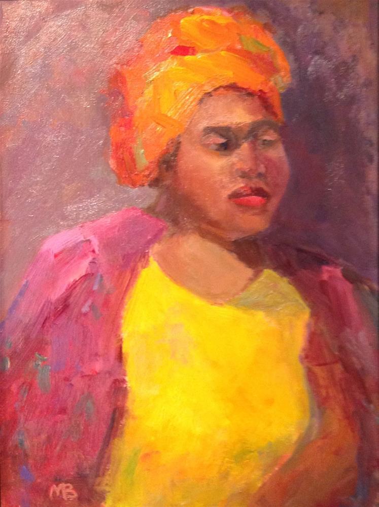 """Miss Julia Zwanda"" original fine art by Marcia Bergtholdt"