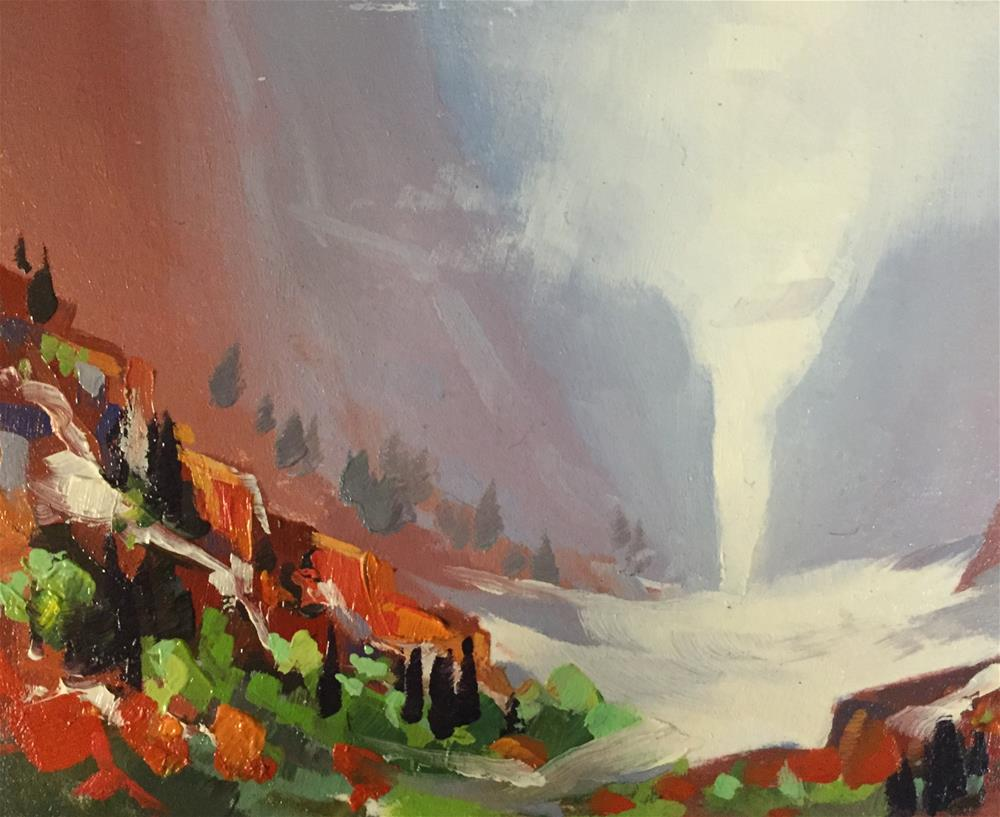 """Kolob Canyons 9"" original fine art by Mary Jabens"