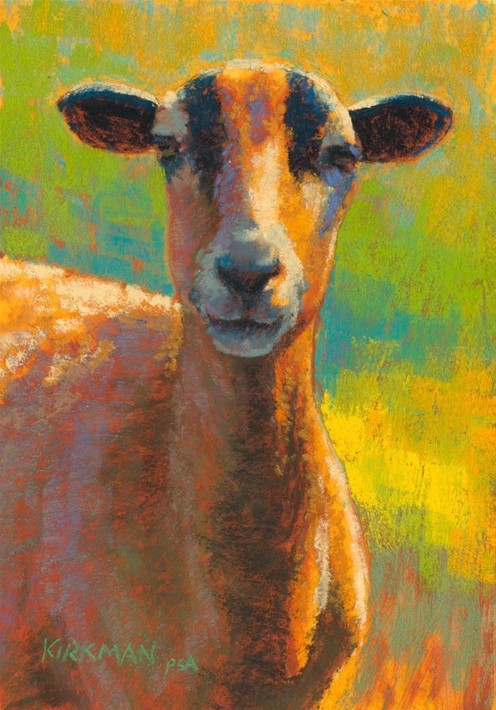 """Gilberta"" original fine art by Rita Kirkman"