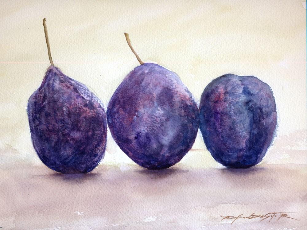 """Peter's Prunes"" original fine art by Rafael DeSoto Jr."