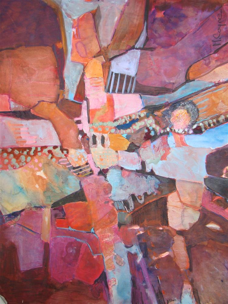 """marathon"" original fine art by meribeth coyne"