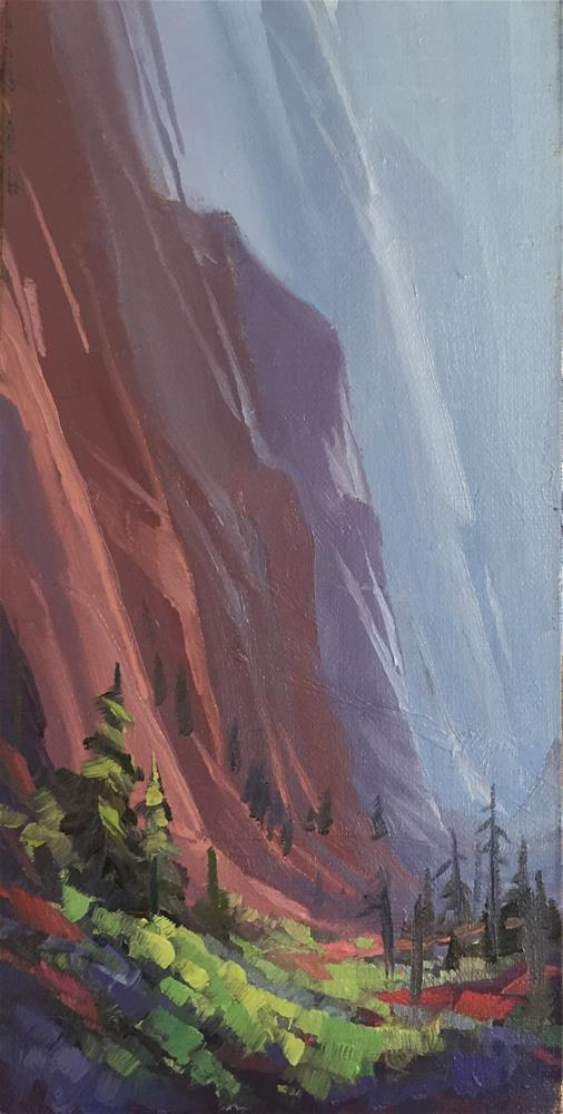 """""""Quiet in the Canyon"""" original fine art by Mary Jabens"""