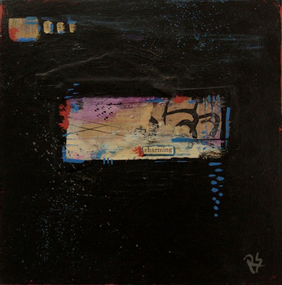"""Charming"" original fine art by Roberta Schmidt"