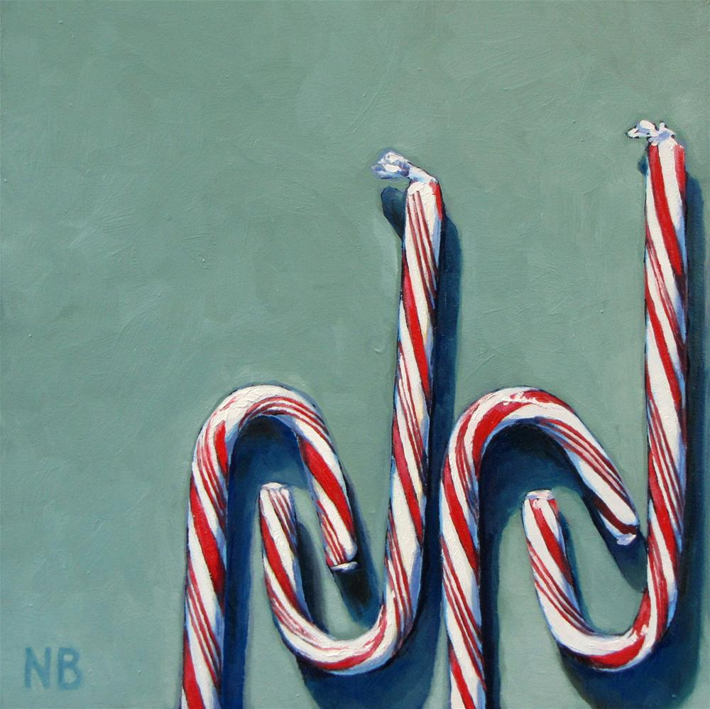 """Sweet Salute"" original fine art by Nora Bergman"