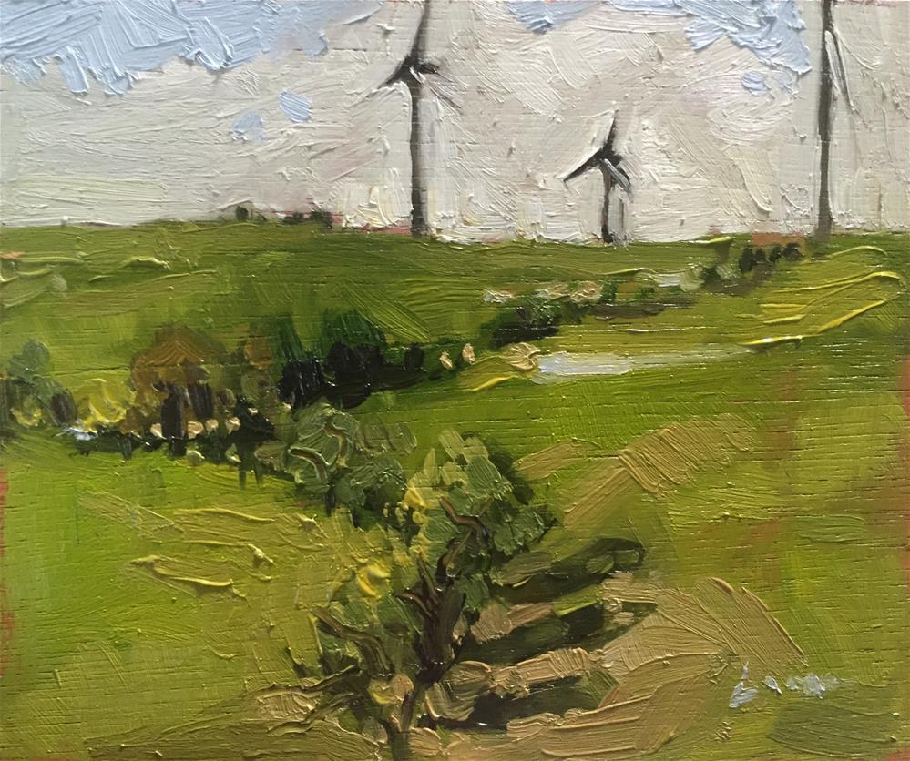 """Limon, Colorado"" original fine art by Chris Long"