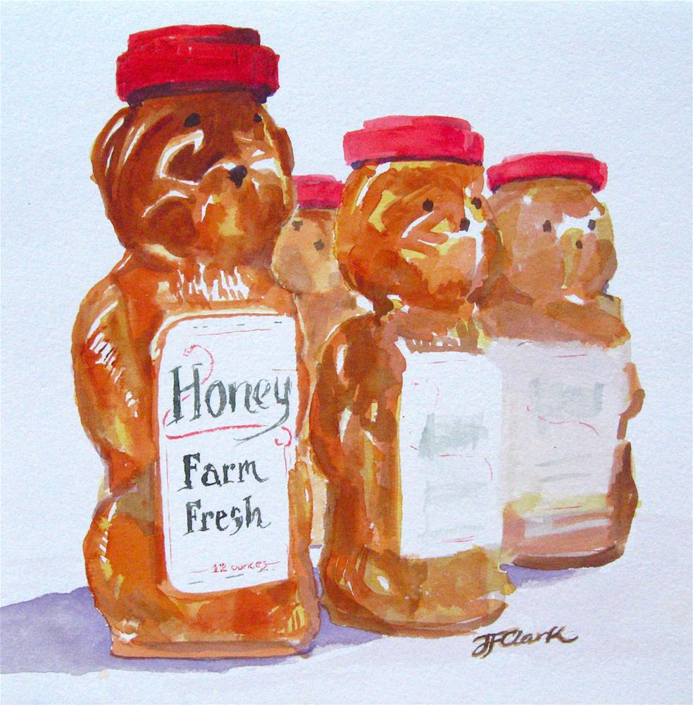 """Sweet Pals"" original fine art by Judith Freeman Clark"