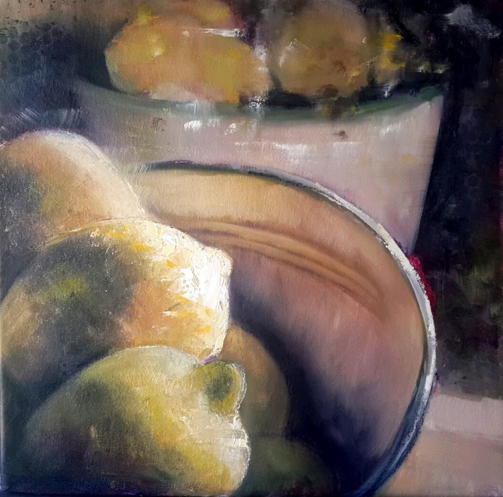 """Making lemonade"" original fine art by Rentia Coetzee"