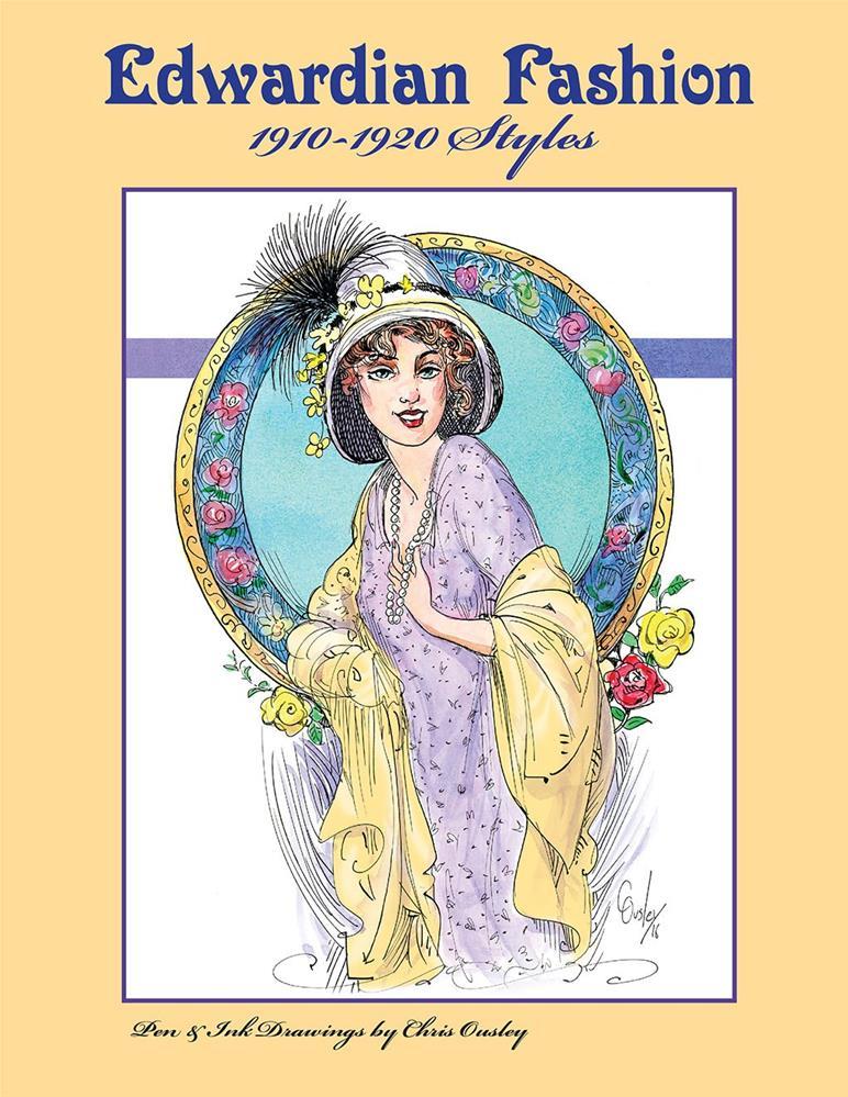 """Edwardian Fashion 1910-1920 Styles"" original fine art by Chris Ousley"