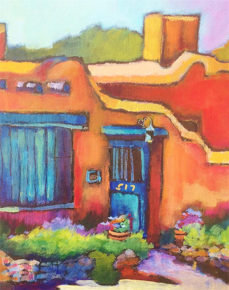 """Canyon Road Casita"" original fine art by Scarlet Owl Studio"