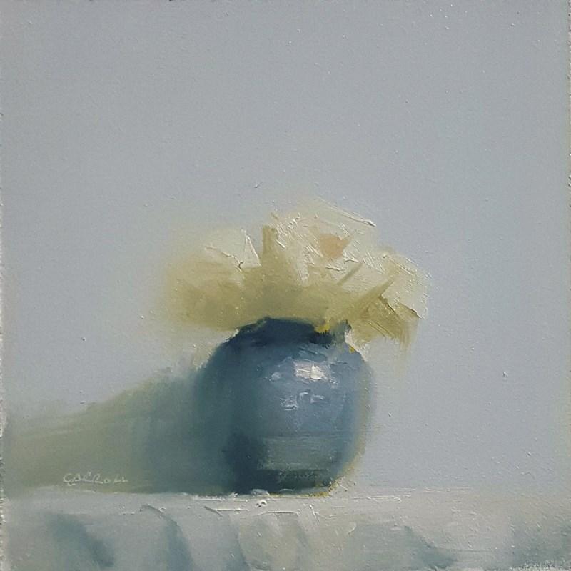 """""""Vase of Flowers"""" original fine art by Neil Carroll"""