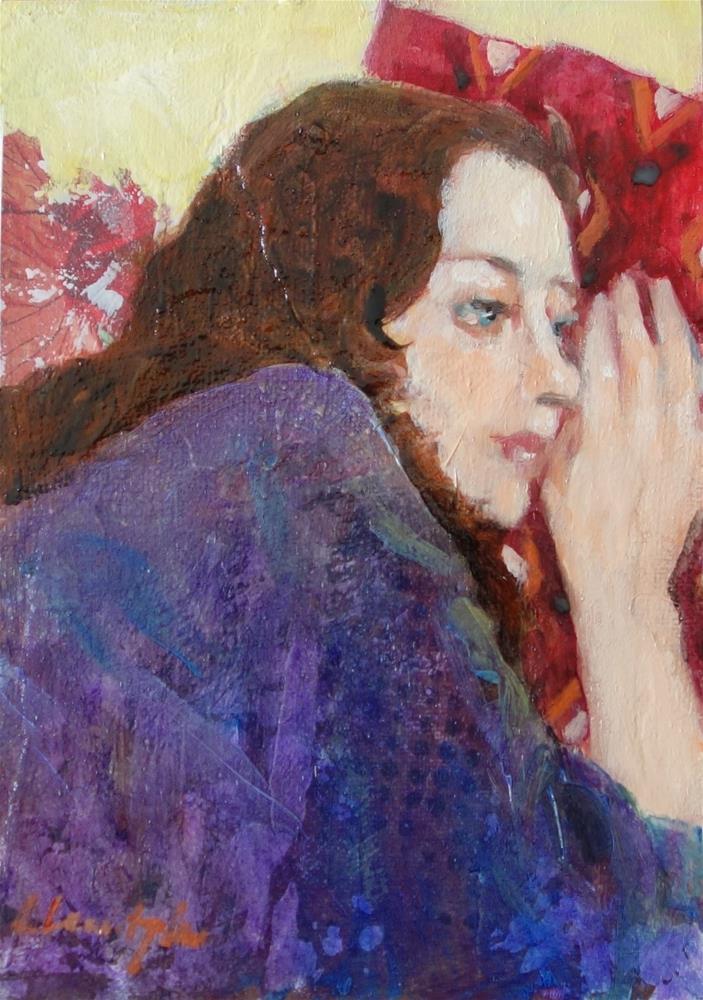 """Drifting"" original fine art by Lorraine Lewitzka"