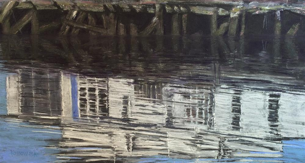 """Pioneer Pier"" original fine art by Cristine Kossow"