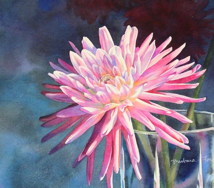 """Dream Of Summer"" original fine art by Barbara Fox"