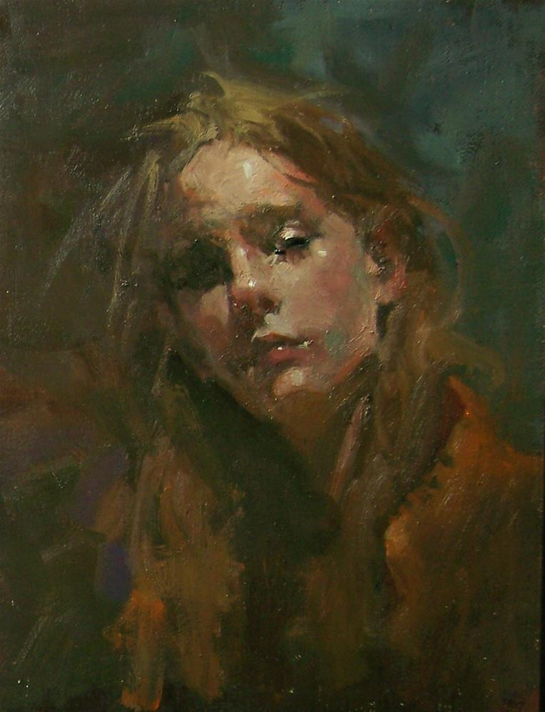 """Poised"" original fine art by Kim Roberti"