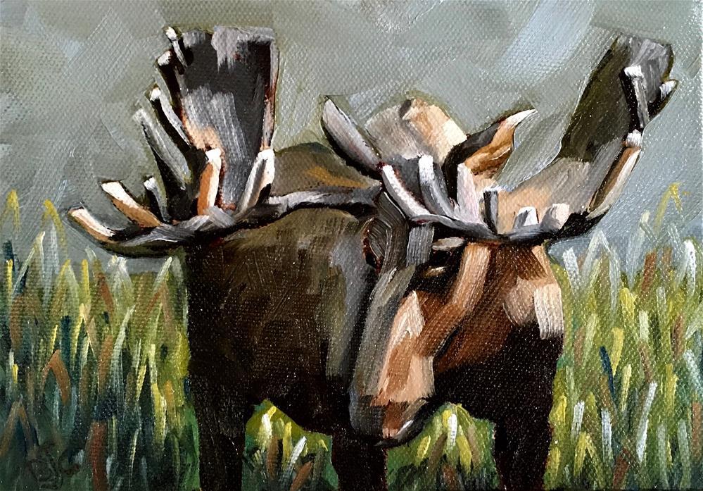 """Different Angle"" original fine art by Bobbie Cook"