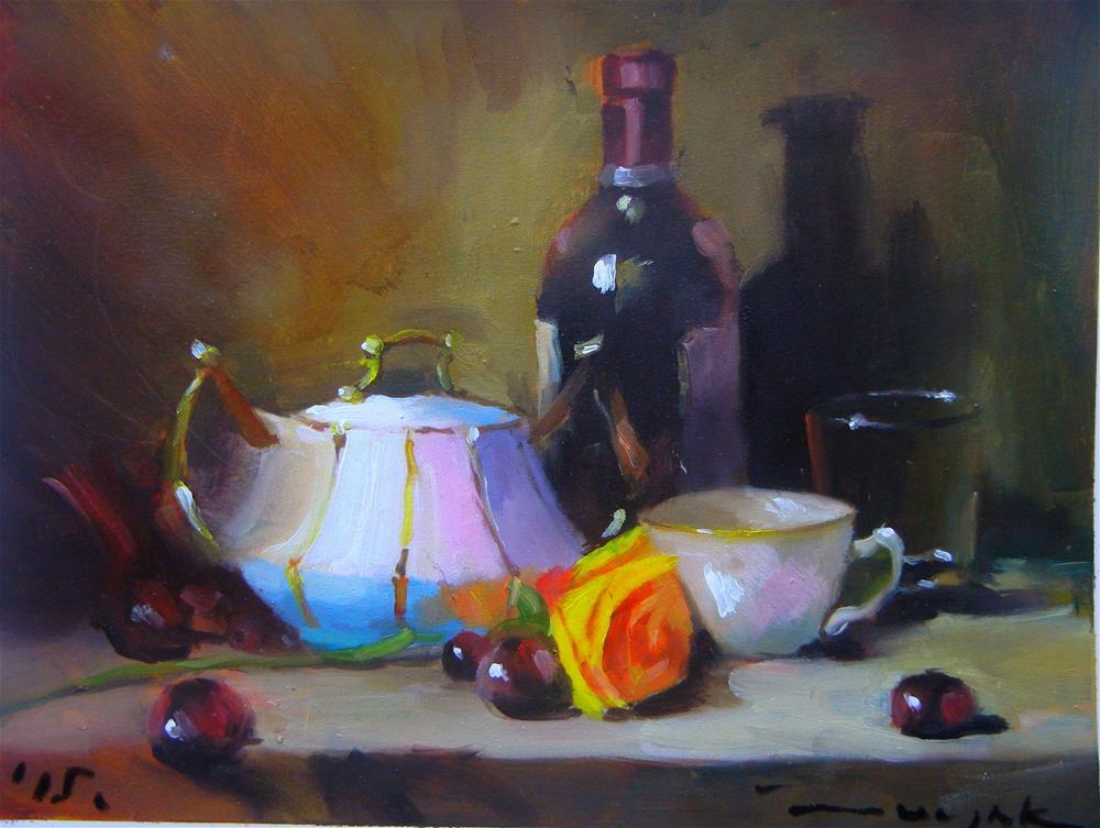 """In the night"" original fine art by Dragan Culjak"