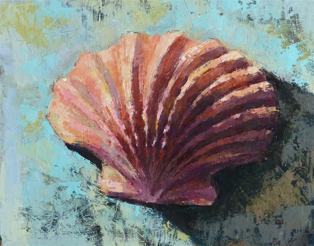 """Shell #5"" original fine art by Katya Minkina"