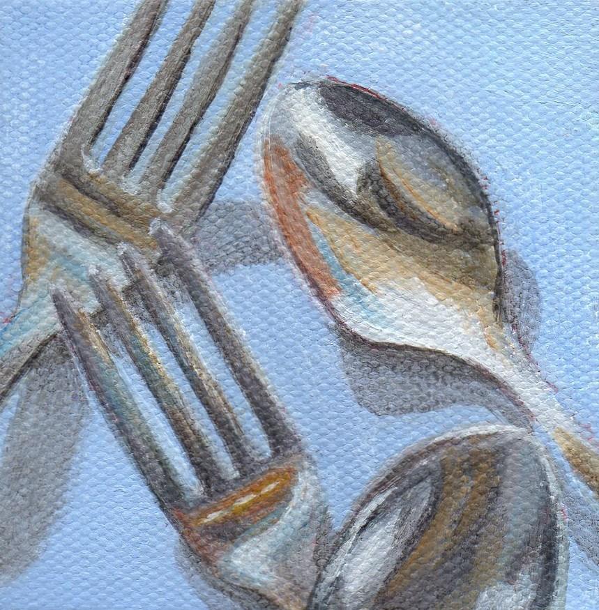"""Morning Reflection"" original fine art by Debbie Shirley"