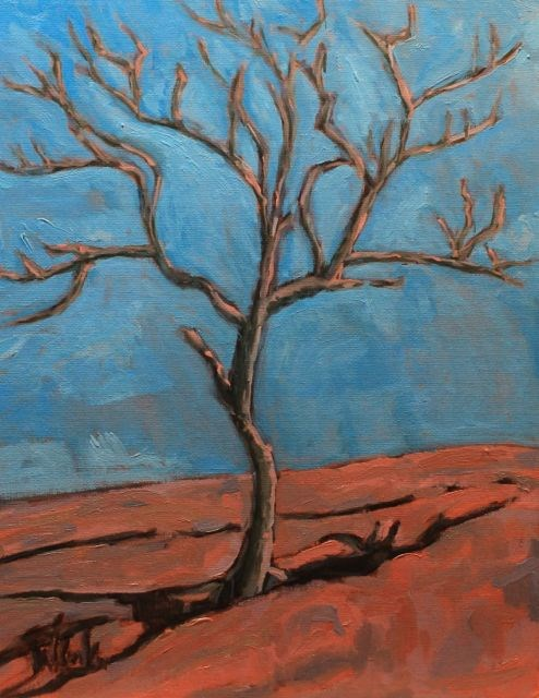 """Enchanted Rock"" original fine art by William Cook"
