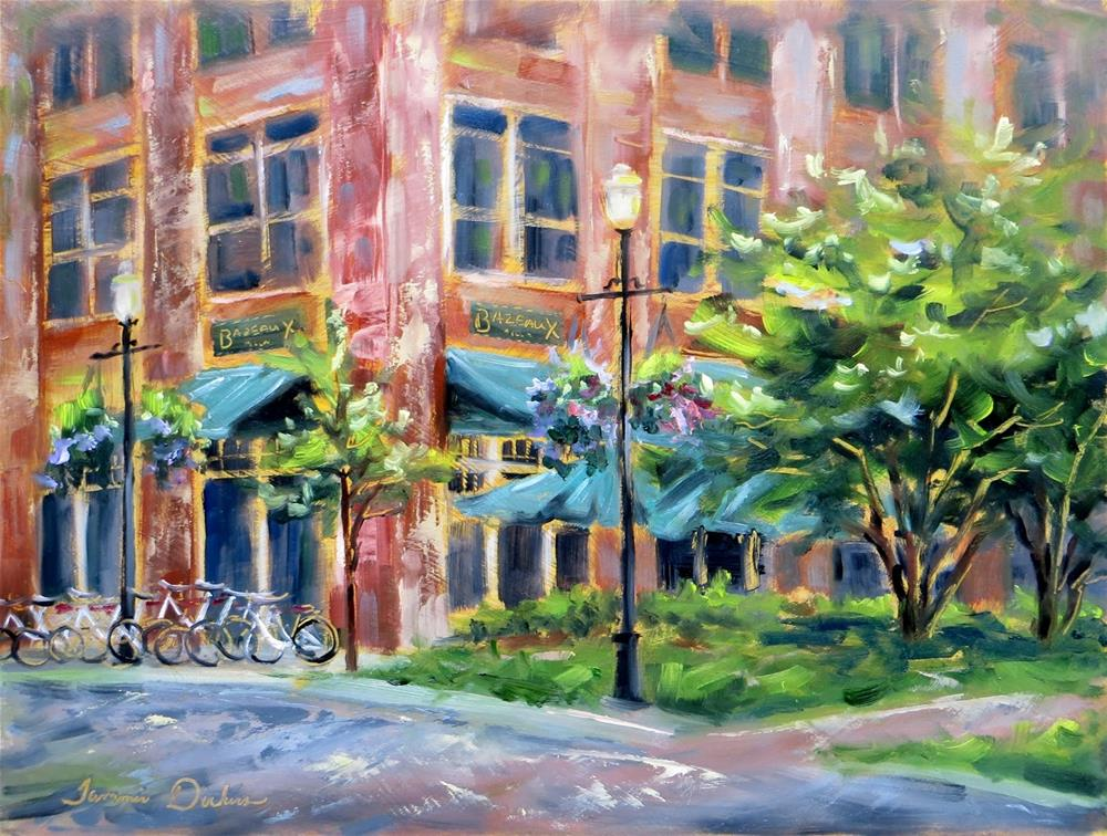 """Bazbeaux in Carmel"" original fine art by Tammie Dickerson"