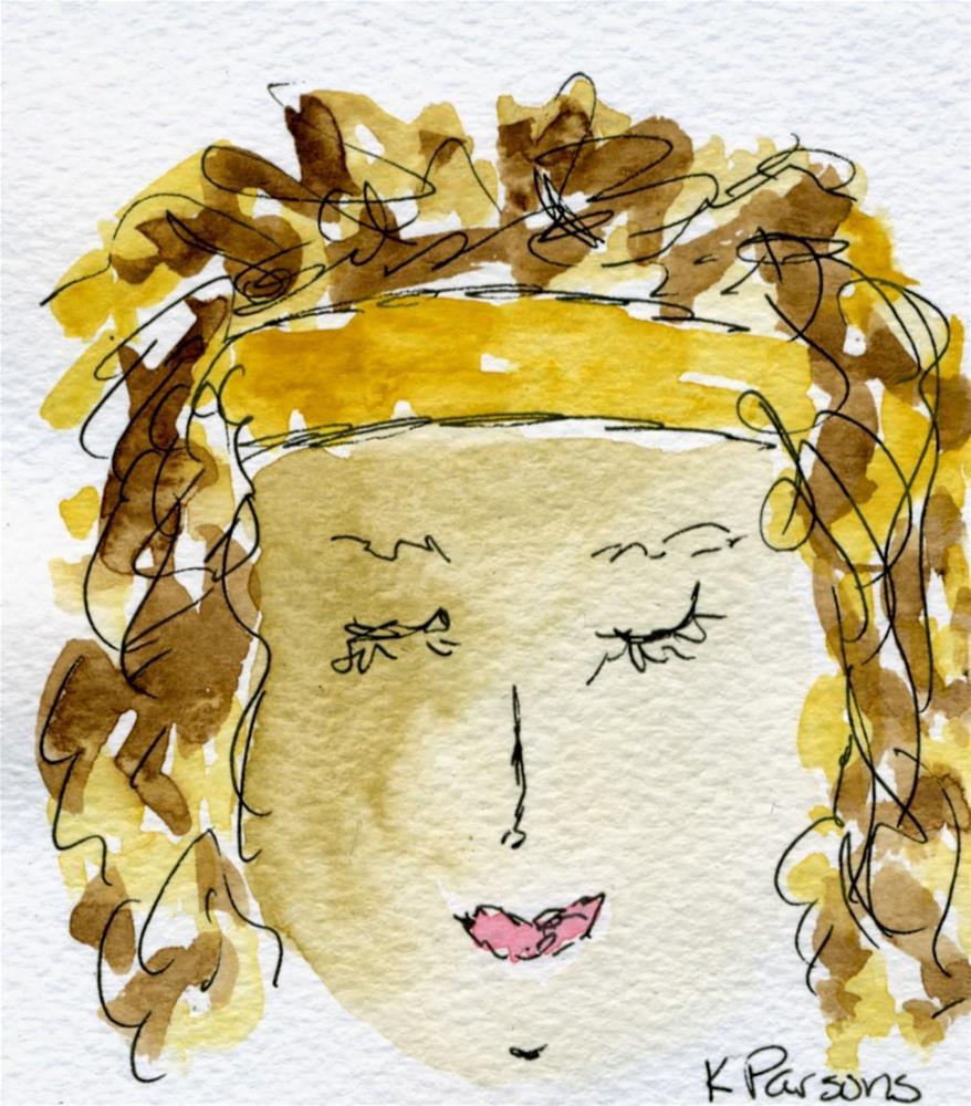 """Bliss..."" original fine art by Kali Parsons"