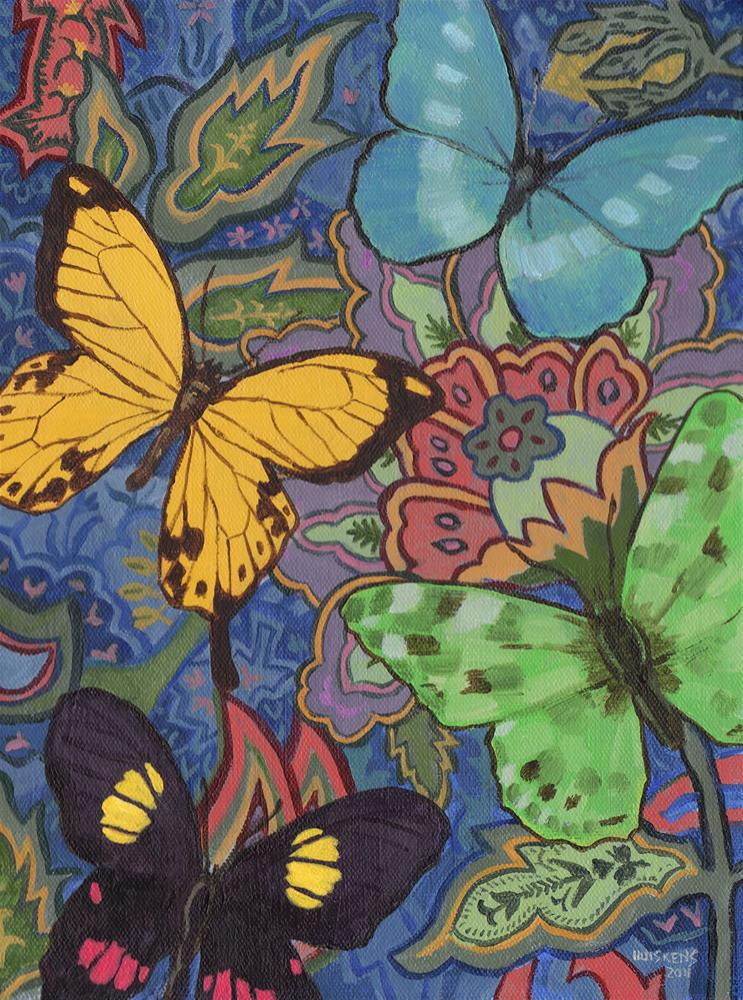 """Butterflies No. 1"" original fine art by Randal Huiskens"