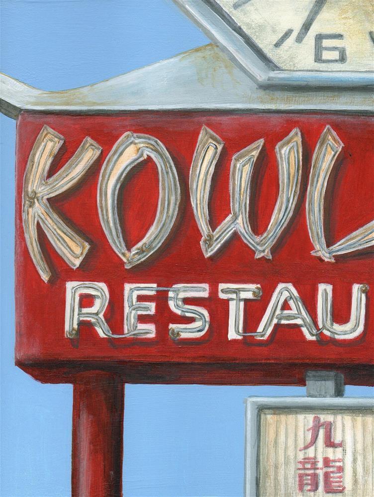 """Kowloon"" original fine art by Debbie Shirley"