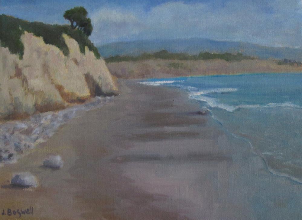 """Summer in Carpinteria"" original fine art by Jennifer Boswell"