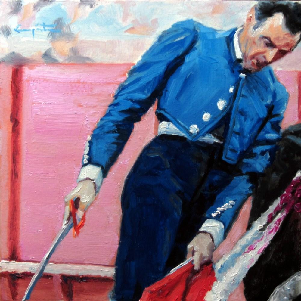 """""""Remate"""" original fine art by Eduardo Carpintero"""