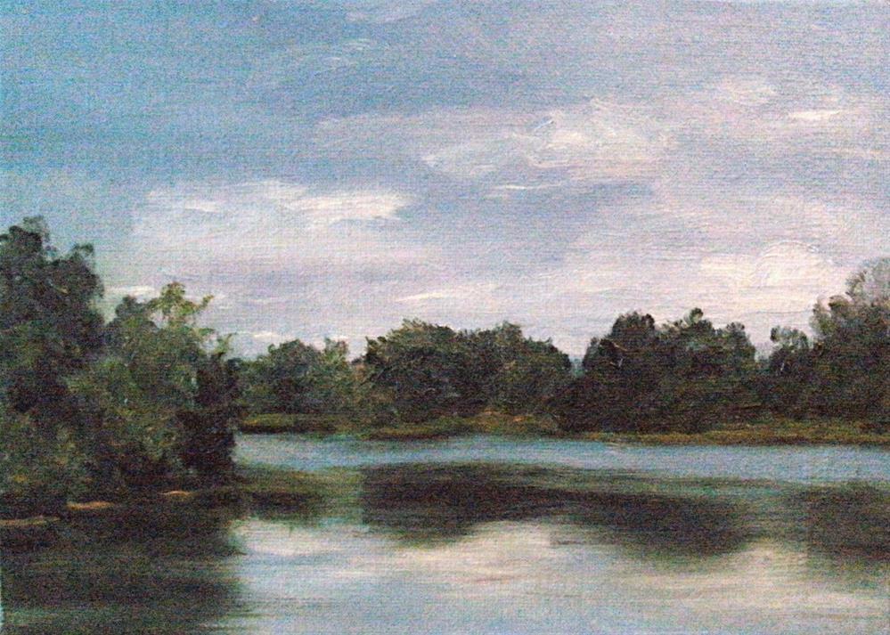 """Cane River Lake"" original fine art by Lynn Darby"